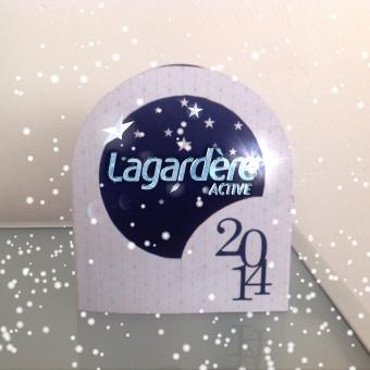 Carte de Voeux 2014, Lagardère Active – Réalité Augmentée